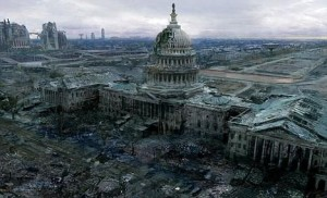What might Washington D.C. look like if hit by a nuclear bomb