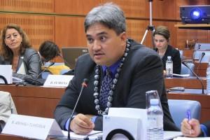 PNND Council Member Senator Richard Tuheiava