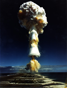 French nuclear test