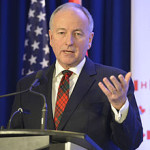 Rob Nicholson, Canada's new Foreign Minister, at the Halifax International Security Summit