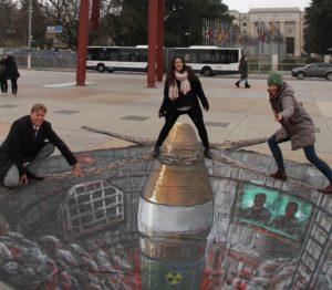 3D nuke Geneva photo 3